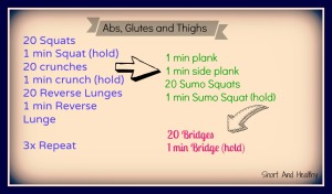 abs glutes and thighs